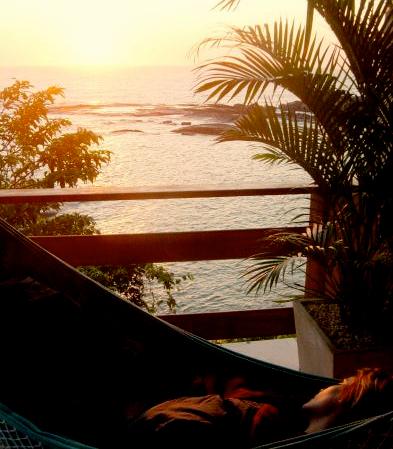 Descanso ao por do sol